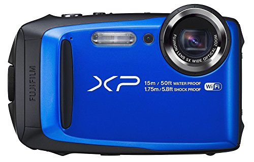 Fujifilm FinePix XP90 Digital Camera (Certified Refurbished) (Blue)