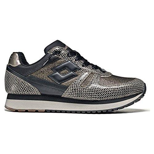 Tokyo nero Sneakers Lacci W Passeggio Casual Donna Leggenda Oro Lotto Ginnastica Wedge 5PfSS7qw