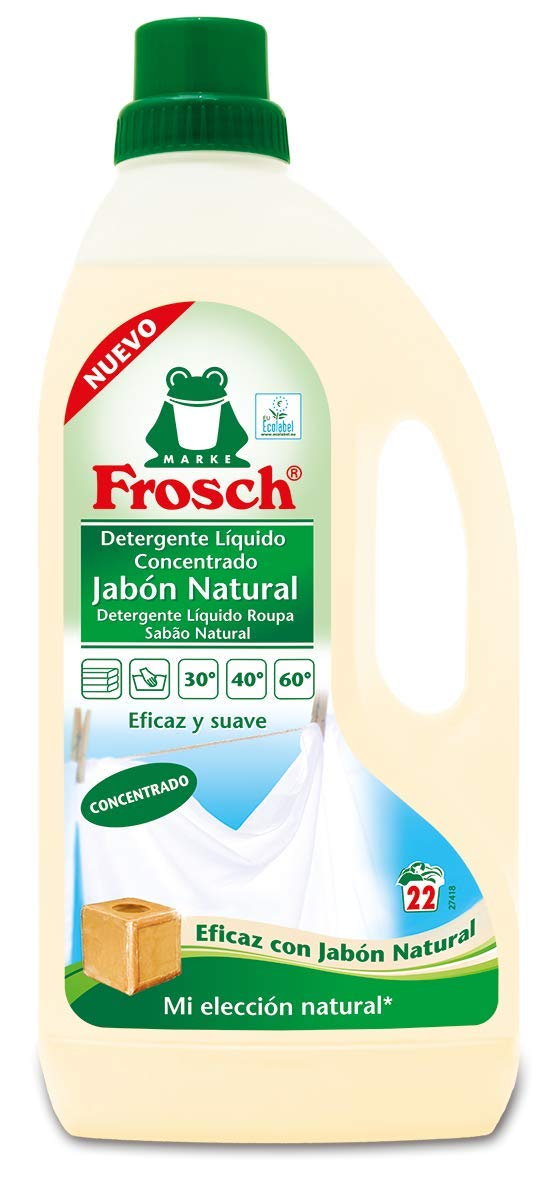 Frosch Detergente Liquido Jabón Natural - 1500 ml: Amazon.es ...