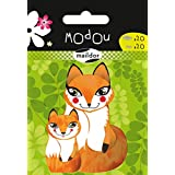 Maildor Modou Mum and Baby Fox