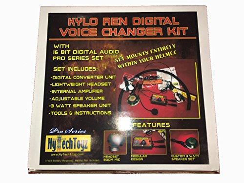 PRO SERIES HELMET VOICE CHANGER SYSTEM - SOUND LIKE KYLO REN -