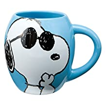 Peanuts Joe Cool 18 Oz. Oval Ceramimc Mug
