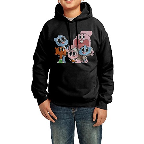 (The Amazing World Of Gumball Youth Classic Pullover Athletic Sweatshirt Hoodies)