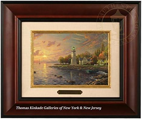 Burl Frame Thomas Kinkade Serenity Cove Brushwork