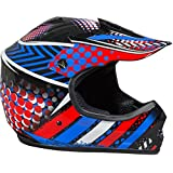 Fuel Helmets SH-ORJ016 Youth Off-Road Helmet, Multicolor, Large