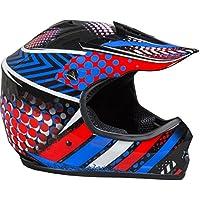Fuel Helmets SH-ORJ016 Youth Off-Road Helmet, Multicolor,...