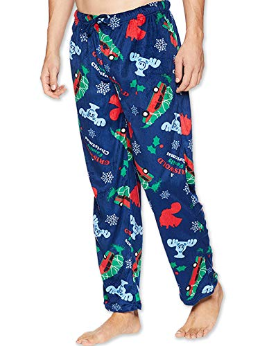 National Lampoon's Christmas Vacation Men's Fleece Holiday Lounge Pants