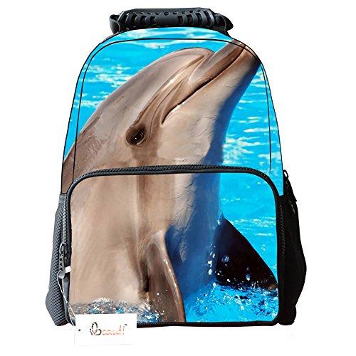 Ibeauti Unisex School Backpack Capacity