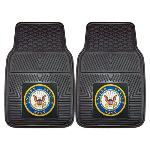 Fanmats Military  'Navy' Vinyl Heavy Duty Car Mat - 2 -