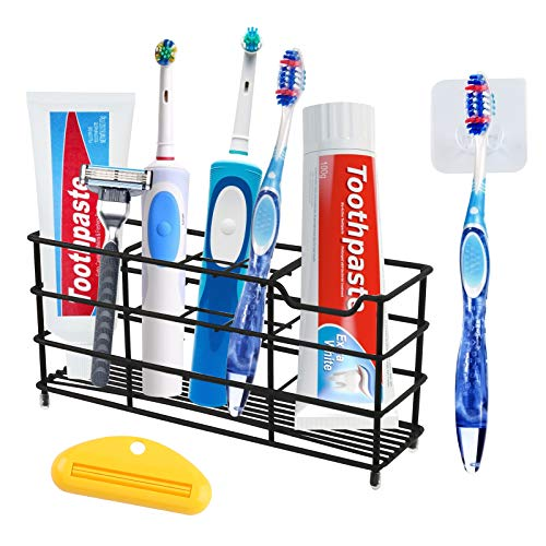 Toothbrush holder organiser with other uses