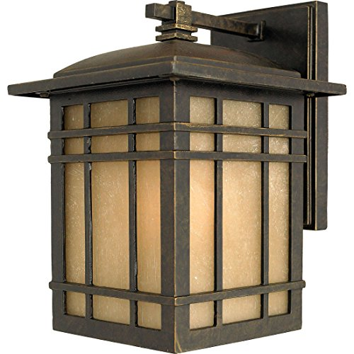 Quoizel HC8407IB Hillcrest Outdoor Lantern Mission Wall Sconce, 1-Light, 150 Watts, Imperial Bronze (10