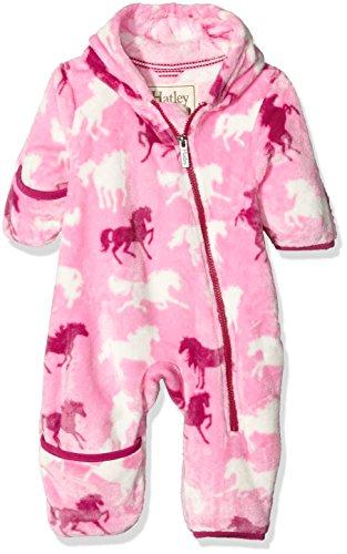 - Hatley Babies' Fuzzy Fleece Bundler, Fairy Tale Horses, 12-18M