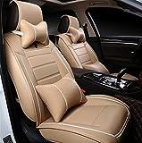 De lujo en cuero pu Auto Coche Universal Fundas cubre asientos de automoción