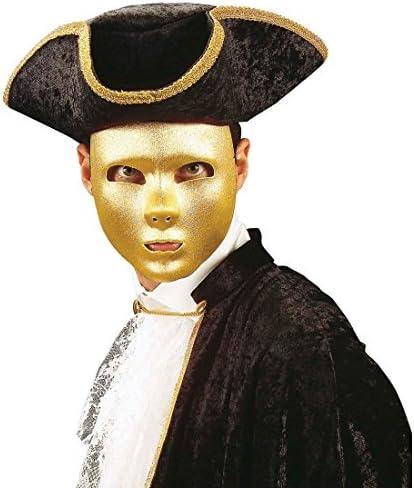 NET TOYS Máscara Dorada Fantasma de la ópera Carnaval: Amazon.es ...