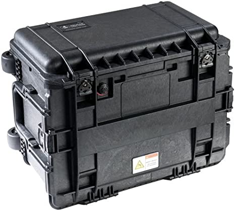 Pelican 0450ND Trolley Case Negro - Caja (Trolley Case, ABS sintéticos, Negro, 375 mm, 456 mm, 608 mm): Amazon.es: Informática