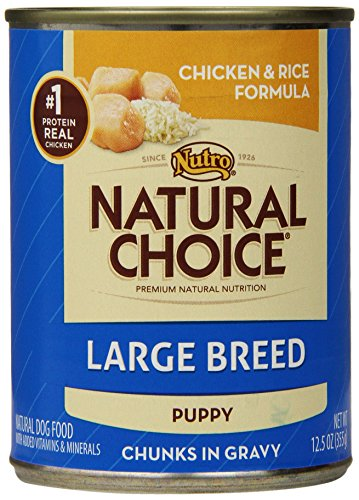 NATURAL CHOICE Large Breed Puppy Chicken and Rice Formula Chunks in Gravy - 12.5 oz. (355 g)