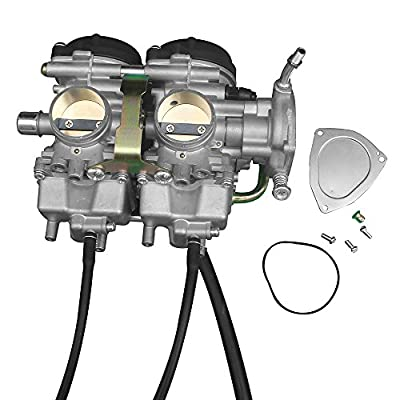 KIPA Carburetor for YAMAHA YFM660R YFM660 Raptor 660R ATV Quad 2001-2005 OEM Part # 5LP-14900-00-00 5LP-14900-20-00 5LP-14900-30-00 Carb Carburetor: Automotive