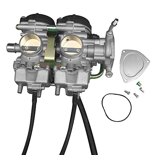 KIPA Carburetor for YAMAHA YFM660R YFM660 Raptor 660R ATV Quad 2001-2005 OEM Part # 5LP-14900-00-00 5LP-14900-20-00 5LP-14900-30-00 Carb Carburetor ()