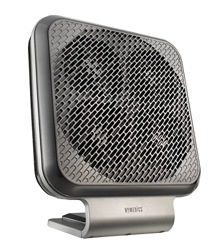 HoMedics AR-NC01GY Brethe Air Cleaner with Nano Coil Technology, Gray