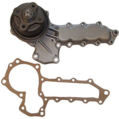 15341-73030 New 4 Bolt Hub Water Pump & Gasket For Kubota Compact Tractor ()