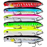 Proberos Popper Fishing Lures Floating Pencil...