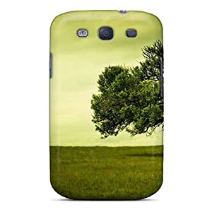 Fashionable Style Case Cover Skin For Galaxy S3- Lonely Tree