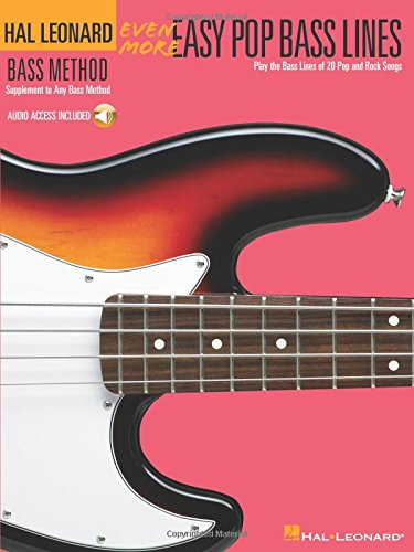 (Even More Easy Pop Bass Lines: Supplement To Any Bass Method)