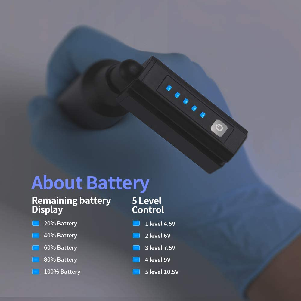 Amazon Com Wireless Mini Tattoo Battery Dedicated 3 7v Lithium Battery 1500mah 3 Hours Continuous Power Supply Dc5 5 Interface P199 Rca Health Personal Care