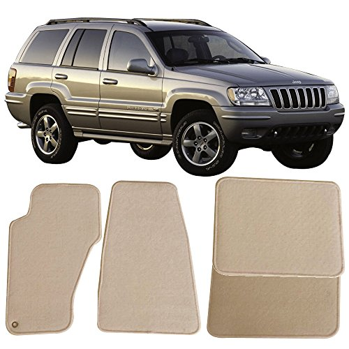 For 1999-2004 Jeep Grand Cherokee PowerSport Front Ceramic Brake Pads