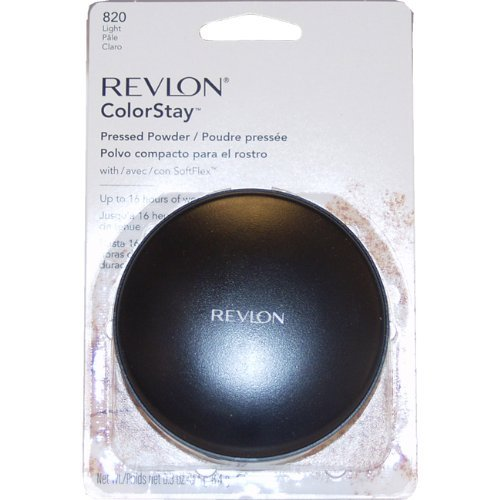 Revlon ColorStay Pressed Powder, Light 820, 0.3 Ounce (Revlon Pressed Powder)