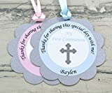 First Communion Personalized Party Favor Tags - Set of 12