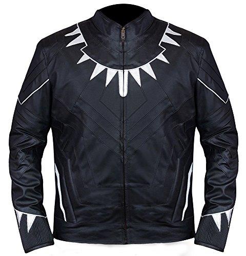 Famous Wakanda Panther Black Jacket Guaranteed◄