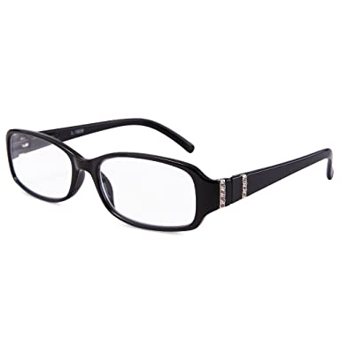 81869a1159ba Image Unavailable. Image not available for. Color  EYEGUARD Readers High  Quality Bright crystal Women Fashion Design Reading Glasses