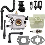Dalom MS260 Carburetor w Air Filter Fuel Line Kit for STIHL MS240 024 026 024AV 024S Chainsaw Parts Walbro WT-194 Carb