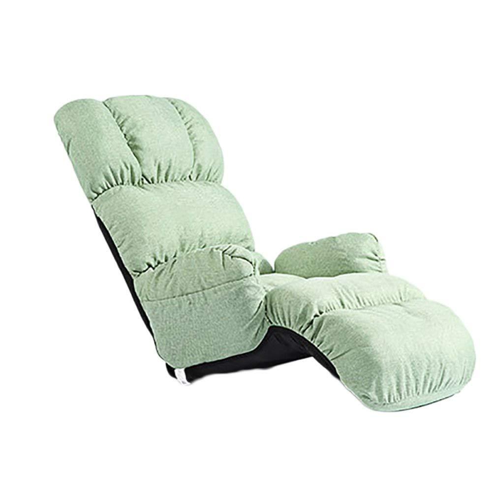 Lecture dextérieur télévision pour le pliant canapé paresseux fauteuil campingcouleurmarronvert portable poste plancher lit réglablede simple chaise longue