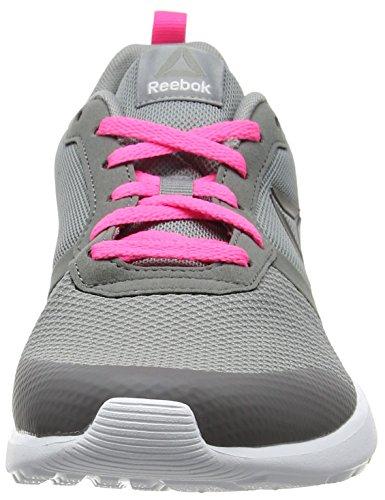 Medium Pink de Poison Foster Grey Gris Flat Flyer Pewte White Chaussures Femme Grey Running Reebok Pz7xw4P