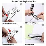 Stapler Set,Plier Stapler with 1000 Staples and