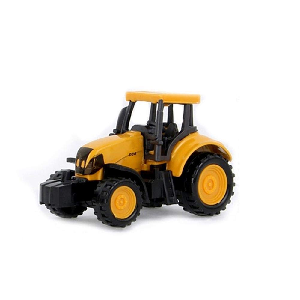 molre-yan Mini Alloy Metal Excavator and Dump Truck for Boys Tractor Toy Dump Truck Model