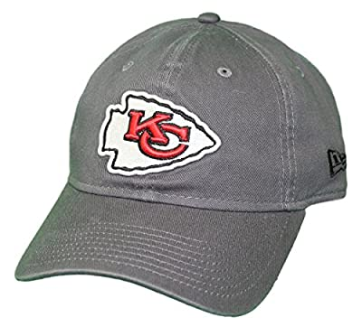 New Era Kansas City Chiefs NFL 9Twenty Core Classic Graphite Adjustable Hat from New Era