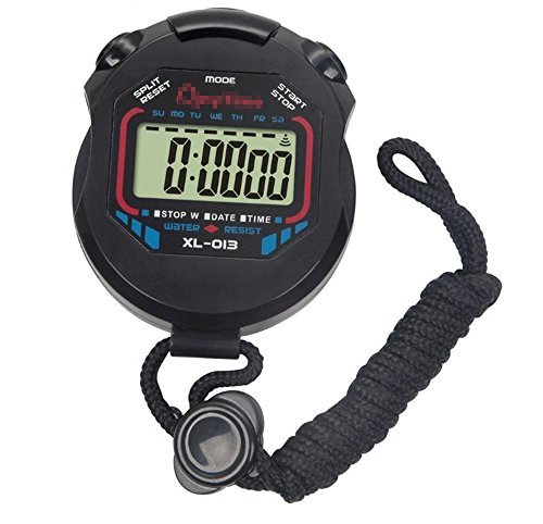 Multi-function Professional Handheld Electronic Digital LCD Chronograph Timer Stop Watch Sportwatch