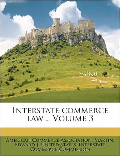 Interstate commerce law .. Volume 3