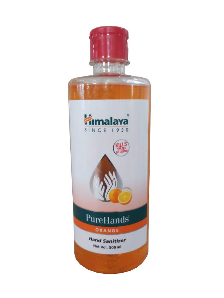 Himalaya PureHand Sanitizers (Orange) - 500 ml