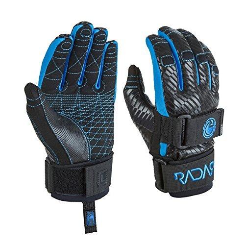 Radar Ergo-A Glove - Black/Daytona Blue (XX-Large) by Radar