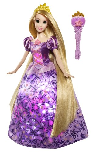 Disney Tangled Sing and Glow Light up Rapunzel Doll