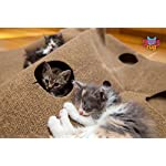 SnugglyCat The Ripple Rug - Made in USA - Cat Activity Play Mat - Thermally Insulated Base - Fun Interactive Play - Training - Scratching - Bed Mat 18