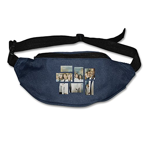 Grey's Anatomy Fanny Pack Belt Bag Waist Pack Navy