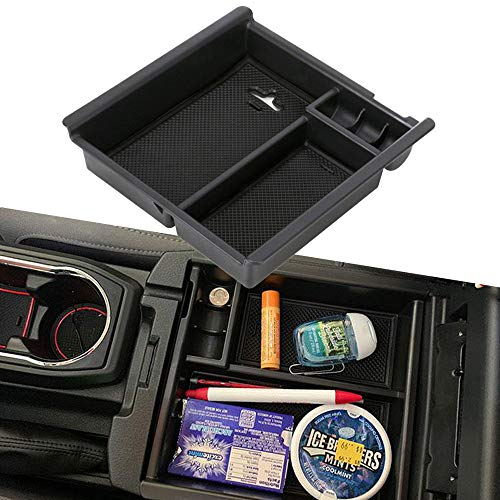 Seven Sparta Center Console Organizer for Toyota Tacoma 2016 2017 2018 Insert ABS Tray Armrest Box Secondary Storage /…