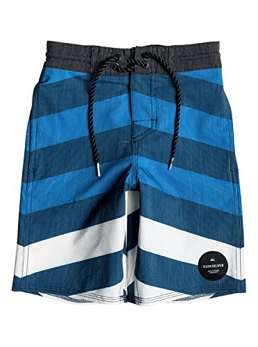 Quiksilver Little Boys' Crypt Brigg Beachshort 14 Boardshort, Estate Blue, 6 - Quiksilver Board Shorts Infant