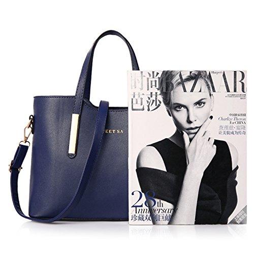 a BYD Borse pelle Spalla Sa qualità Sweet alta Fashion Bag Donna a Designer PU Mano Borsa Giallo borsa BqB76wr4x