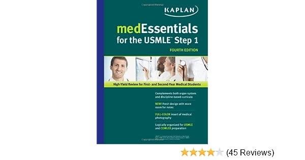 medEssentials for the USMLE Step 1 (USMLE Prep): 9781609780265